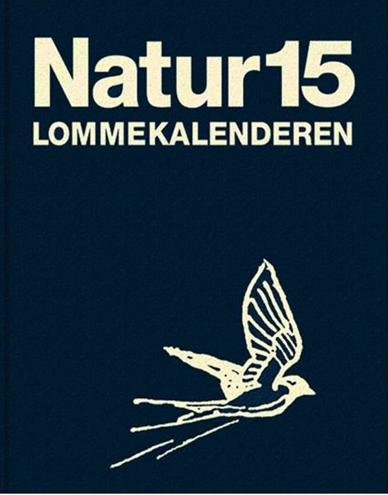 Forsiden af Naturkalenderen 2015.