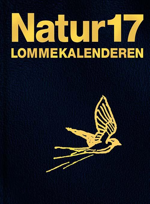 Forsiden af Naturkalenderen 2017